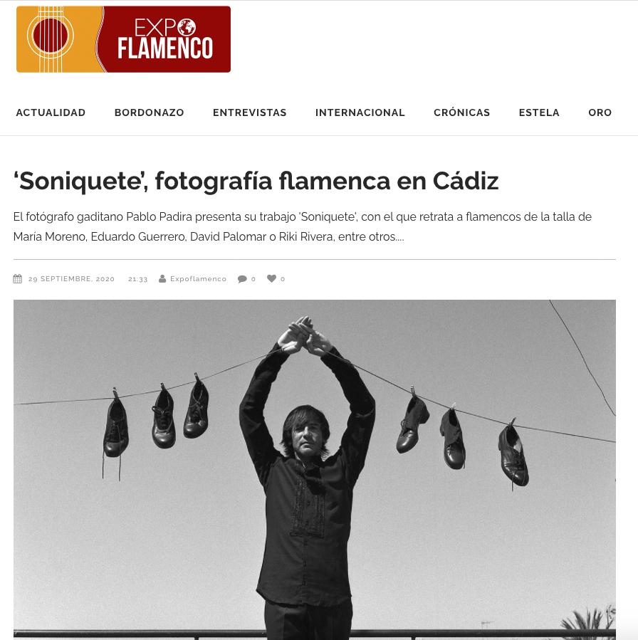 Soniquete - Pablo Padira - Expoflamenco
