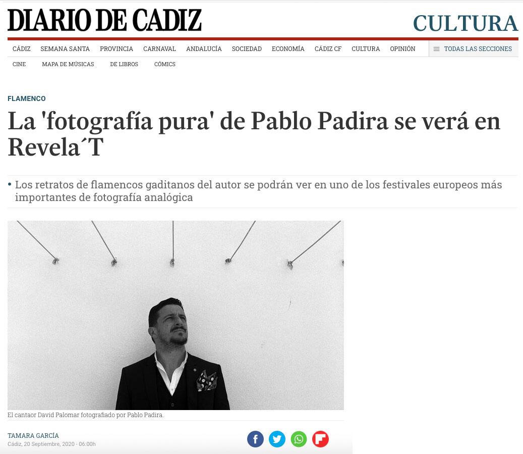 Soniquete - Pablo Padira - Diario de Cádiz
